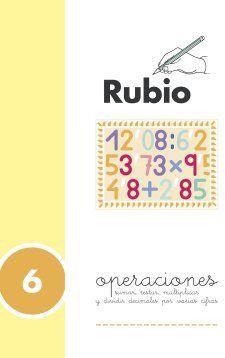 Portada de Problemas Rubio 6