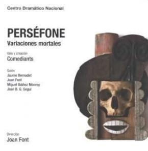 Portada de Persefone: Variaciones Y Creacion