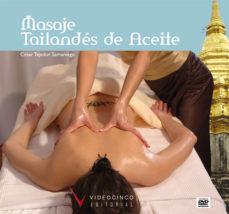 Portada de Curso De Masaje Tailandes De Aceite (incluye Dvd)