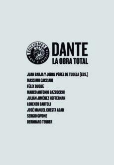 Portada de Dante: La Obra Total