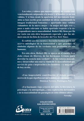 Portada de Iron John: Una Nueva Vision De La Masculinidad (4ª)