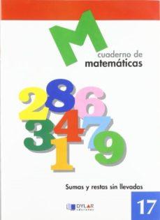 Portada de Cuaderno De Matematicas 17 Car