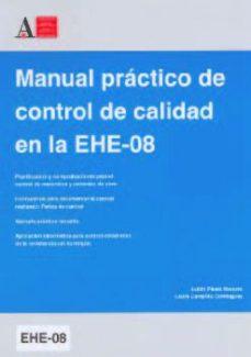 Portada de Manual Practrico De Control De Calidad En La Ehe-08
