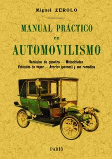 Portada de Manual Practico De Automovilismo
