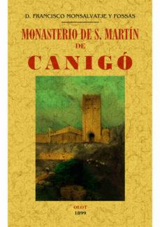Portada de Monasterio De S. Martin De Canigo (ed. Facsimil)