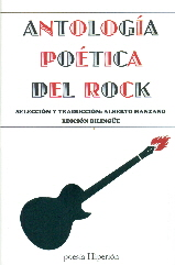 Portada de Antologia Poetica Del Rock