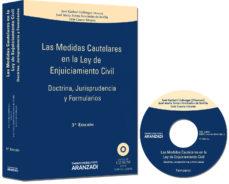 Portada de Medidas Cautelares En La Ley De Enjuiciamiento Civil: Doctrina, J Urisprudencia Y Formularios (3ª Ed)