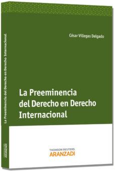 Portada de Preeminencia Del Derecho En Derecho Internacional