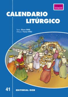Portada de Calendario Liturgico