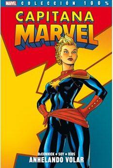 Portada de Capitana Marvel 1. Anhelando Volar
