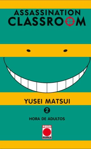 Portada de Assassination Classroom 2