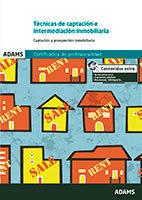 Portada de Tecnicas De Captacion E Intermediacion Inmobiliaria. Unidad Formativa 1921 Certificado De Profesionalidad De Gestion