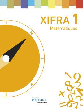 Portada de Matematiques 1r.primaria Xifra (projecte Explora)