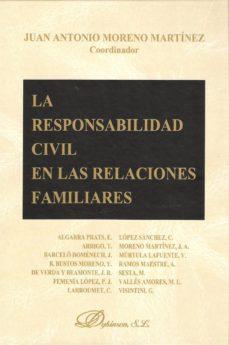 Portada de La Responsabilidad Civil En Las Relaciones Familiares