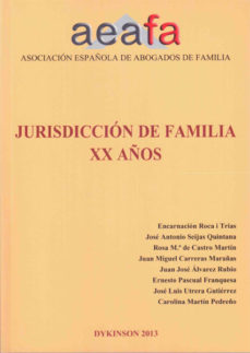 Portada de Jurisdiccion De Familia Xx Años