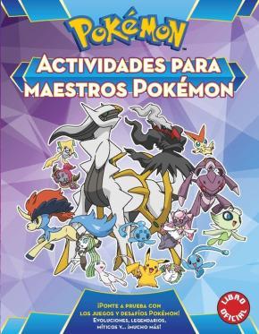 Portada de Actividades Para Maestros Pokemon (pokemon)