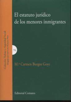 Portada de Estatuto Juridico De Los Menores Inmigrantes