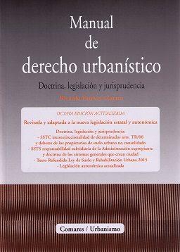 Portada de Manual De Derecho Urbanistico
