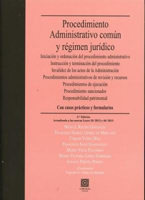 Portada de Procedimiento Administrativo Comun