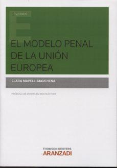 Portada de El Modelo Penal De La Union Europea