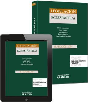 Portada de Legislacion Eclesiastica (16ª Ed.)
