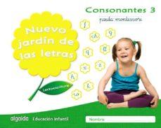 Portada de Nuevo Jardin De Las Letras Educacion Infantil 5 Años Consonantes 3 Pauta Mec