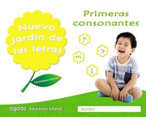 Portada de Nuevo Jardin De Las Letras Educacion Infantil 4 Añps Primeras Consonantes Mec