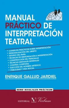 Portada de Manual Practico De Interpretacion Teatral