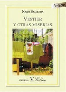 Portada de Vestier Y Otras Miserias