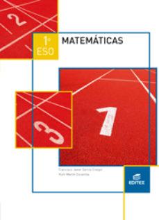Portada de Matematicas 1º Eso Trimestral Ed 2015