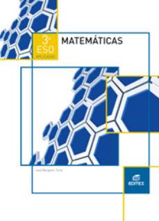 Portada de Matematicas Aplicadas 3º Eso Ed 2015