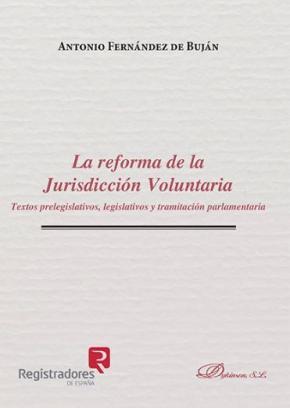 Portada de Reforma De La Jurisdiccion Voluntaria