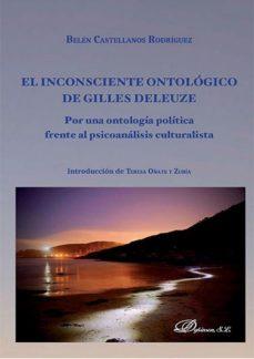 Portada de El Inconsciente Ontologico De Gilles Deleuze