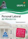 Portada de Personal Laboral De Ministerios Grupo Ii: Temario Volumen 2