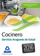 Portada de Cocinero Del Servicio Aragones De Salud. Temario Especifico Volumen 1