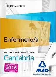 Portada de Enfermero/a De Las Instituciones Sanitarias De Cantabria. Temario General