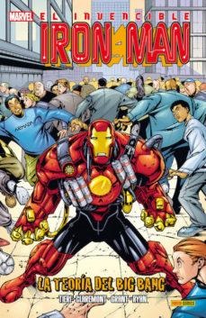 Portada de El Invencible Iron Man: La Teoria Del Big Bang