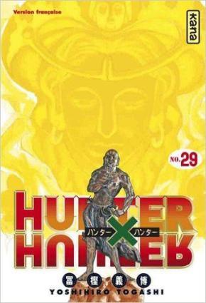 Portada de Hunter X Hunter 29