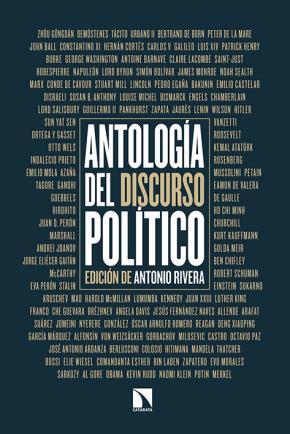 Portada de Antologia Del Discurso Politico
