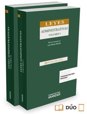 Portada de Leyes Administrativas (21ª Ed.)