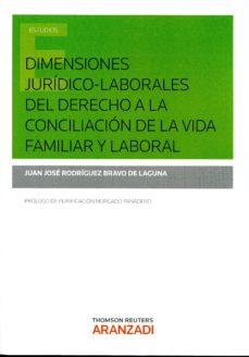 Portada de Dimensiones Juridico-laborales Del Derecho A La Conciliacion De La Vida Familiar Y Laboral