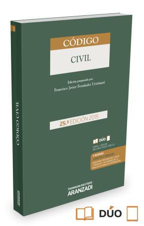 Portada de Codigo Civil (25ª Ed.) (duo)