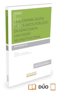Portada de La Economia Digital De Los Datos Publicos En Democracia: Una Visi On Neoinstitucional