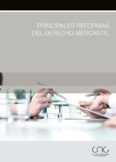 Portada de Principales Reformas Del Derecho Mercantil