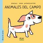 Portada de Animales Del Campo – Letra Imprenta