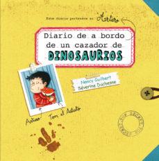 Portada de Diario De A Bordo De Un Cazador De Dinosaurios