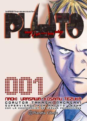 Portada de Pluto Nº 01/08 (nueva Edicion)