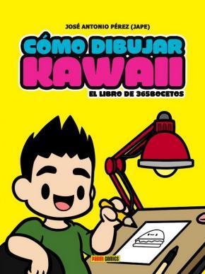 Portada de Como Dibujar Kawaii: El Libro De 365 Bocetos