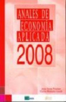 Portada de Anales De Economia Aplicada 2008