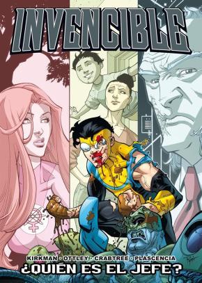 Portada de Invencible Nº 12: ¿quien Es El Jefe?